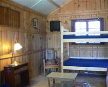 Dam Cottage with bunks-now double bed!