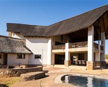 The hotel has been designed to compliment the beautiful safari surroundings.