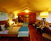 Nyati Tent interior