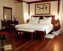 Interior of one spacious Suites