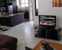 TV entertainment area in the lounge