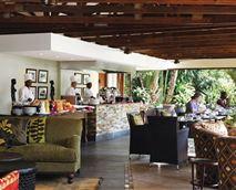 Enjoy breakfast on the terrace © Ghost Mountain Inn