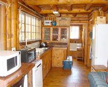 Six-sleeper Chalet kitchen
