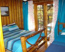 Six-sleeper Cottage bedroom
