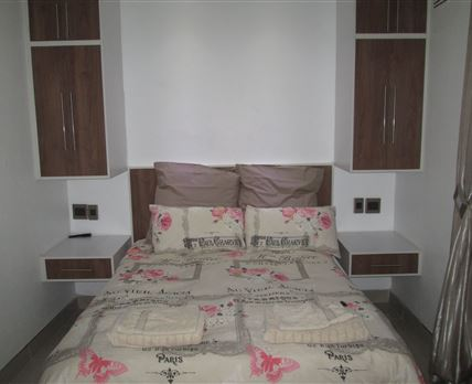 Room has a double bed and en-suite bathroom (Shower).