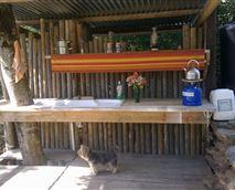 Communal kitchen area