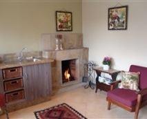 Nature's kitchenette, lounge, fireplace