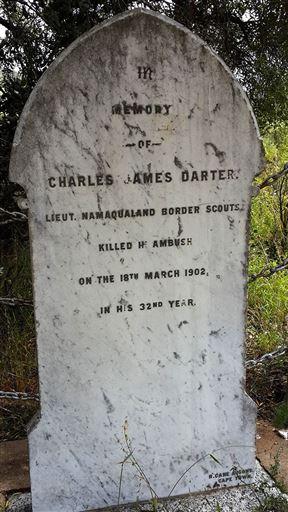 Grave of Charles James Darter