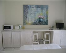 Interior of cottage