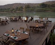 Dining on the river