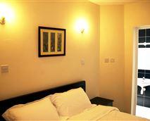 Deluxe Apartment master bedroom © Nairobi Airport Hotel