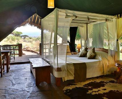 Double Tent © KIBO SAFARI CAMP