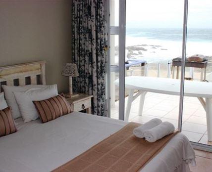 Main bedroom with sea views