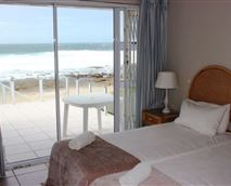 Second bedroom with sea views