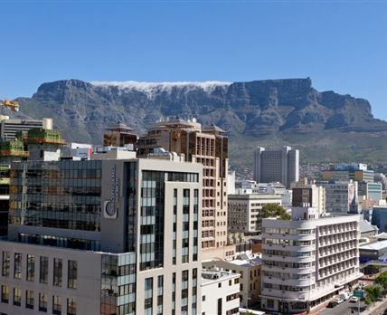 Views of table mountain