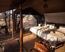 Tents interior