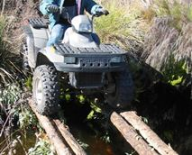 We have several quad bike trails.  Bring your own quad or rent one from us.
