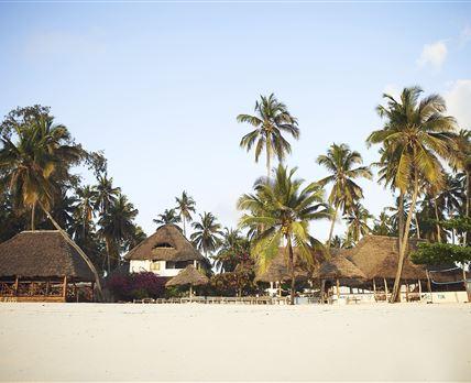 Beach view of Blu Marlin Village