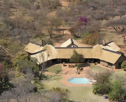 Jaghuis Private Lodge aerial view