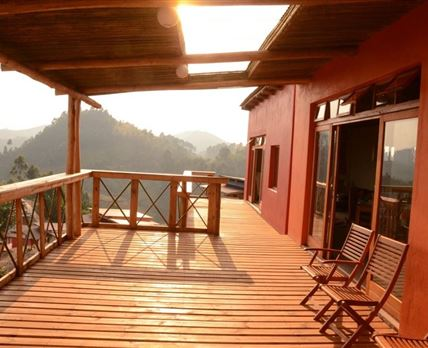Deck with beautiful views
