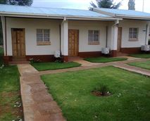 Entrance to the rooms © Molengoane Lodge