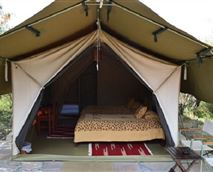 Standard Luxury Tent exterior