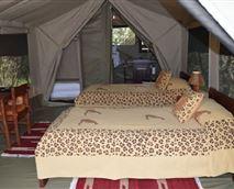 Standard Luxury Tent bedroom
