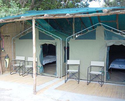 Main Camp - Dive School Safari Tents