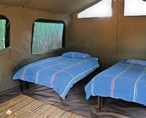 All Safari Tents fitted same