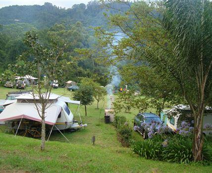 Lovely camping in a green dream © Ian Loughor-Clarke