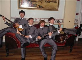 The Beatles at Madam Tussauds
