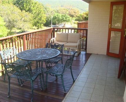 Private deck