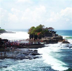 Tanah Lot Temple Ceremony