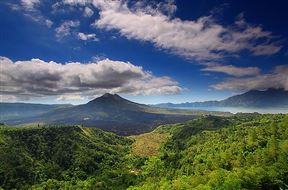 Kintamani Valcano