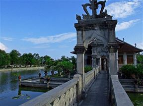 Taman Ujung - Floating Bale Bridge