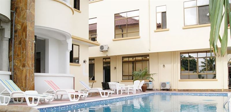Hotel de mag for Swimming pools in dar es salaam