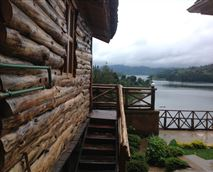All cabins and rooms, except for our dorms, are self contained with hot showers © Bunyonyi View