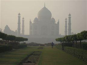 Taj Mahal from Mehtab Bagh