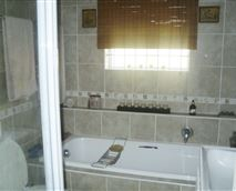 Modern Bathroom/shower/toilet and basin
