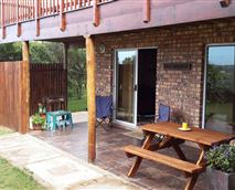 Braai area and space outside to relax