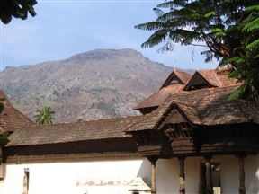 Hill and the Padmanabhapuram Palace