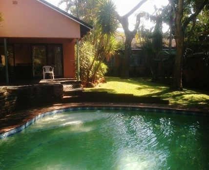 Patio, pool and garden