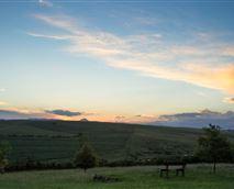 Sunset over Giant's Castle as seen from the lawns of Glen Ormond. |  © Glen Ormond