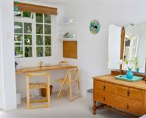 Dressing table and tea/coffee area