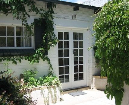 Private entrance to the cottage