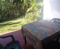 Private patio Visarend