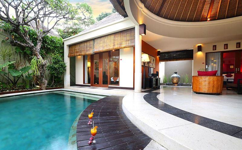 The bali bill villa for Swimmingpool billig