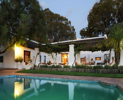 All guests have access to the pool and terrace area for sundowners,swimming and braai facilities.