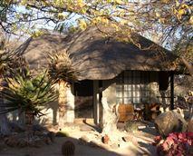 Grass roof chalets