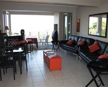 Fully opening patio doors. DStv and air conditioning